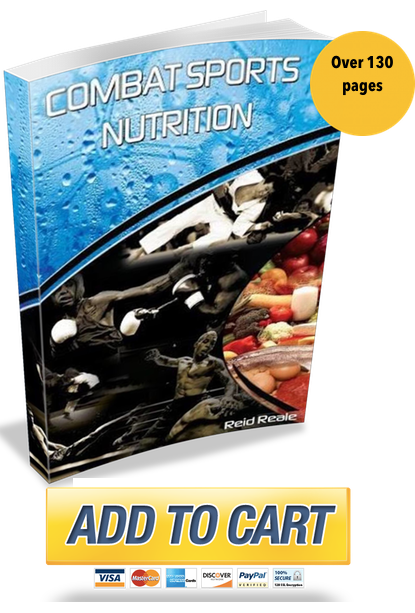 combat sports nutrition book